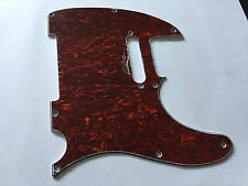 TELECASTER PICKGUARD RED TORTOISE for FENDER, SQUIER