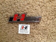 SMALL HURST EQUIPPED EMBLEM - FORD CHEVROLET OLDSMOBILE PONTIAC PLYMOUTH DODGE