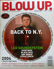 BLOW UP 80 2005 LCD Soundsystem Sightings Hood Glenn Branca Mercury Rev Carella