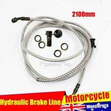 2100mm Hydraulic Brake Line Hose Cable Motorbike Dirt ATV Quad Bike Buggy GoKart