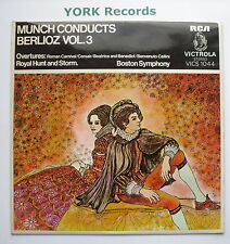 VICS 1044 - MUNCH conducts BERLIOZ VOL 3 Charles Munch Boston SO - Ex LP Record