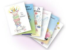 Suzy's Zoo New 2012 Assorted Birthday Card 6-pack 10153