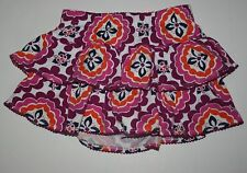 New Gymboree Medallion Tiered Ruffle Swing Skirt Skort Size 3T NWT Spice Market