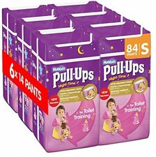 Huggies Pull Ups Night Time Potty Training Pants For Girls - Small, 84 Pants Tot