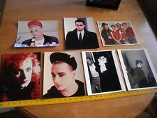 Boy George Culture Club lot of 7 photos 8x10 ORIGINAL 1980's