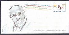 Vatican 2015 Postal Stationary Official Envelope w/ Pope Francis by Daniel Fusco