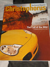 CHRISTOPHORUS PORSCHE MAGAZINE 289 APRIL/ MAY 2001 PORSCHE 911 TURBO 911 GT2