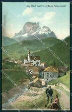 Belluno San Vito di Cadore Monte Pelmo cartolina QT1172