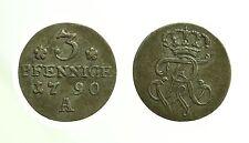 pci3566) 3 Pfennig 1790 A - Berlin Brandenburg - Preußen Friedrich Wilhelm II