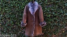 OVERLAND JEKEL PARIS *RARE* SHEEPSKIN SHEARLING COAT - MADE IN FRANCE