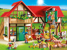 PLAYMOBIL® 6120 Large Farm - NEW 2015 - S&H FREE - Not available in USA