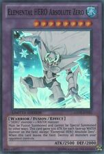 1x YuGiOh Elemental HERO Absolute Zero - GENF-ENSE1 - Super Rare - Limited LP