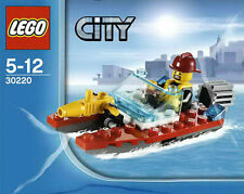LEGO City #30220 - Pompier / Fireman - Fire Speedboat - NEUF / NEW - SEALED