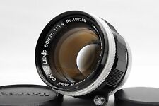 """Excellent+++++"" Canon 50mm f/1.4 Leica Screw Mount LTM L39 Lens From Japan #432"
