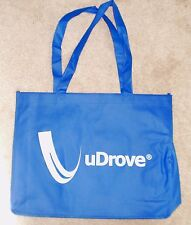Blue UDROVE Trucking Reusable Grocery Shopping Tote Bag