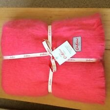 CATH KIDSTON  CORAL PINK MOHAIR BLANKET BRAND NEW WITH TAGS