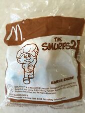 McDONALDS TOY THE SMURF 2 BAKER SMURF  / RARE / CUTE