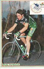 RUDY VERDONCK Cyclisme Cycling Ciclismo GATORADE 92