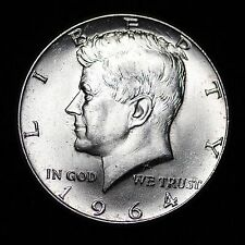 1964 Kennedy Silver Half Dollar *51 YEARS OLD* GEM BU