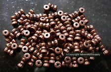100 Antique copper plated bow shaped jewelry beading spacer filler beads fpb198