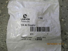 QTY 2 Lawson Heavy-Duty Quick Disconnect Coupler 1/4 Air Coupler   11941