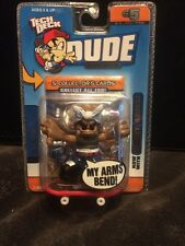 """E5 TECH DECK DUDE EVOLUTION  Crew Bendy Arms SERIES 1 Stevie """"j"""" #005 With Cards"""