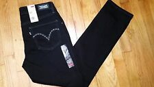 Levis Mid Rise Skinny Jeans Size 8 s Short New With Tags Extra Cute Black