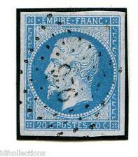 Classique France Napoléon N°14A cachet petits chiffres 956 Corlay