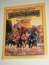 TSR AD&D Advanced Dungeons & Dragons SWORDS IRON LEGION Forgotten Realms 9226