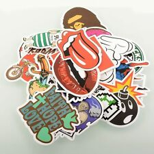 100 Pieces Stickers Skateboard Vintage Graffiti Laptop Luggage Decals mix Lot