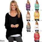 Hot Sale Women Ladies Loose Sweaters Long Sleeve Shirt Blouse Baggy Tops