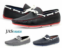 Mens Slip On Driving Shoes Casual Boat Deck Mocassin Loafers Size 6 7 8 9 10 11