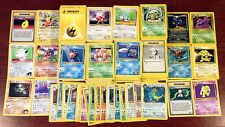 Pokemon Cards LOT of 50, BASE THROUGH NEO 1ST EDITIONS, HOLO & RARE INCLUDED