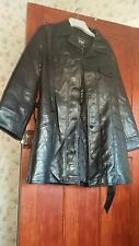 REPORTAGE men's leather jacket, black,(no size but it is about XL-XXL)