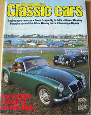 THOROUGHBRED & CLASSIC CARS--MAR 1982 inc MGA + TR7 + MERCEDES-BENZ 450SEL