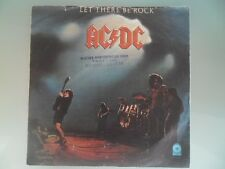 YUGOSLAVIA AC / DC MEGA  RARE SINGLE  RECORD   MINT  COVER VG  YUGOSLAVIAN