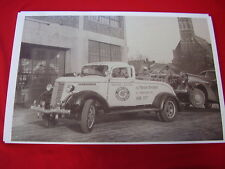 1937 GMC TOW  TRUCK  PONTIAC MI.  BIG  11 X 17  PHOTO  PICTURE