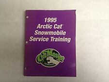 1995 Arctic Cat Snowmobile Service Training Manual