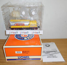 LIONEL 6-18461 TRACK CLEANER CAR O GAUGE TOY TRAIN M.O.W. MAINTENANCE DEPARTMENT