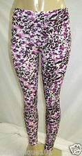 NWT H&M WOMENS PINK LEOPARD PRINT SKINNY FIT LEGGING SIZE SMALL US