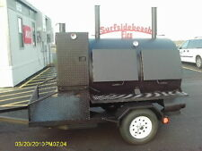 4860 Rotisserie BBQ Grill, Smoker, Cooker on Trailer by HEARTLAND COOKERS