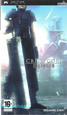 Crisis Core: Final Fantasy VII Sony PSP 16+ RPG Game