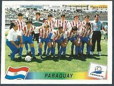 PANINI WORLD CUP FRANCE 1998- #263-PARAGUAY TEAM PHOTO