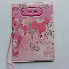 Top Sale Passport holder Travel Passport Cover Case ID Credit Card Holders Pink