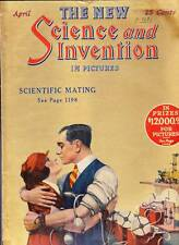 SCIENCE AND INVENTION April 1924 - Frank R. Paul, Ray Cummings, Hugo Gernsback