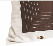 NAUTICA CAPE CHARLES EURO SHAMS SET OF TWO CREAM BROWN