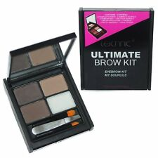Technic Ultimate Brow Kit Eyebrow Make Up Set Powders Wax Tweezers & Brush