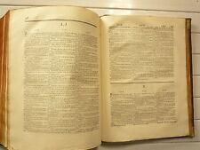 TOME SECOND DICTIONNAIRE FRANCAIS ESPAGNOL DE A à ZONE ET DICO GEOGRAPHIQUE 1775