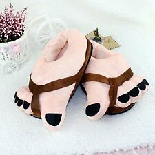 eSmart Funny Winter Big Toe Feet Soft Plush Warm Slippers Home Slipper Shoes