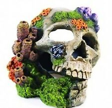 Classic Skull Aerating Aquarium Ornament Fish Tank Air Bubbles